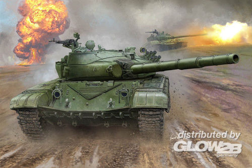 Trumpeter: Russian T-72B MBT in 1:16