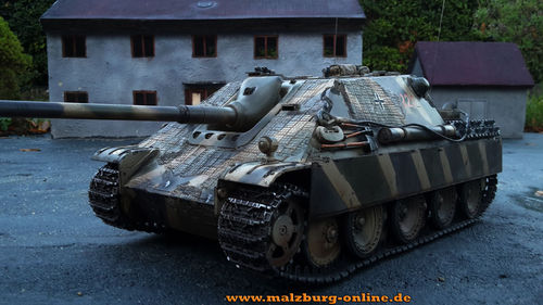 "Airbrush for tank Jagdpanther"" Streifentarn 1:16"