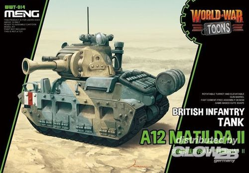 British Infantry Tank A12 Matilda II  (Cartoon Model)