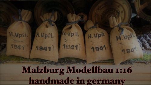 ~MM~ 1 Bag German Army food for 1:16 (1:18) model building