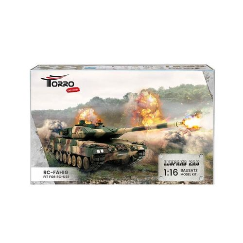 1/16 Kit RC Leopard 2A6